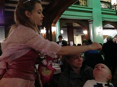 """A Fairy Princess Grants Paul's Wish at the Walnut Room • <a style=""""font-size:0.8em;"""" href=""""http://www.flickr.com/photos/109120354@N07/16094163602/"""" target=""""_blank"""">View on Flickr</a>"""