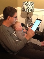 """Paul Reads with Daddy • <a style=""""font-size:0.8em;"""" href=""""http://www.flickr.com/photos/109120354@N07/16094184402/"""" target=""""_blank"""">View on Flickr</a>"""