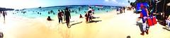 Bar-Playa Blanca (pico.jerry) Tags: new blue beach water beautiful azul island agua colombia bonito playa cartagena isla beginner