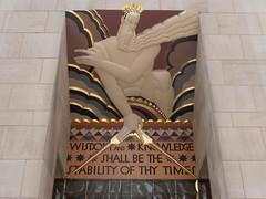 Nueva York, Rockefeller Center 09 (RCA Building) (fbanos71) Tags: newyork rockefellercenter wisdom 30rock estadosunidos nuevayork leelawrie gebuilding artdco rcabuilding sabidura unitesstates 30rockefellerplaza