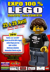 Expo LEGO CHANTEPIE 2015 (Malolau & Lenny) Tags: lego expo lenny avril rennes 2015 chantepie malolau
