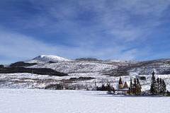 Lac de la Galette (Renald Bourque) Tags: canada quebec hiver chalet renaldbourque lacdelagalette