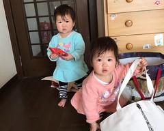 Twins Sister Cute 孪生姐妹 ฝาแฝด