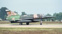 Dassault Mirage 5BA (Angle-of-Attack) Tags: germany 1988 tam militaryaviation badensollingen tacticalairmeet
