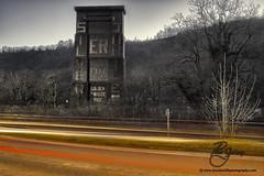 Walnut Tree Viaduct (Peter Jeremy) Tags: road tree wales silver landscape golden memorial cityscape elizabeth jubilee walnut cardiff queen viaduct honey 1977 caerphilly a470