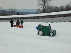 DSCN2063 (wjtlphotos) Tags: snow fun creative cardboard derby karting wjtl