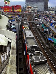 Terugblik op 2015:MegaCity (Peter ( phonepics only) Eijkman) Tags: train metro philippines transport tram rail railway trains manila rails railways trams lrt trein spoorwegen treinen