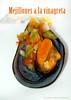 Mejillones a la Vinagreta ({Manzanas Rojas R.} Raquel.) Tags: food comida mussels mejillones vinagreta