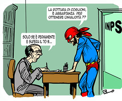 20110727122031 (ilsuperdisoccupato) Tags: italia fumetti bruno satira socialismo larepubblica crisi disoccupazione precariato superdisoccupato