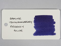 Diamine 150th Anniversary Regency Blue - Word Card