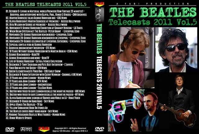 The Beatles Telecasts 2011 Vol 5