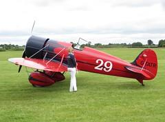 G-TATR LAA Airshow Old Warden 15 June 2014 (ACW367) Tags: replica typer travelair oldwarden mysteryship gtatr laaairshow
