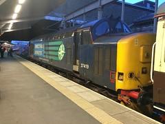 37419 Crewe (daveymills31294) Tags: white rose train tea class crewe kipper 37 tours links pathfinder lancs sabrinas drs 374 37419