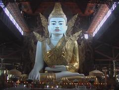 Ngar Htat Gyi Sitting Buddha