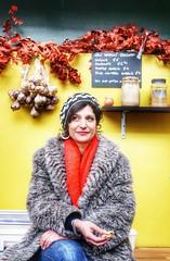 C'est si bon (LaTur) Tags: uk food woman london europe britain boroughmarket peta chic galic londonist lemarchduquartier