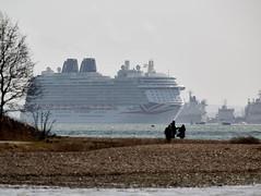 Britannia (Bernie Condon) Tags: cruise sea water port river boat ship po southampton britannia liner