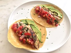 SWEET JESUS. (Kimberly C. Lee) Tags: homecooking mahimahi dorado fishtacos grilledfish saltwaterfishing doradofishing cabofishing mahitacos mahimahifishing mahitaco grilledfishtacos doradotacos homeeats doradofillet mahimahifillet doradotaco