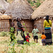 Borana women farmers and their children