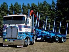 SML 8x4 Kenworth Logging truck 2014 (Gummy Joe) Tags: kenworth loggingtruck truck 8x4 lorry cabover