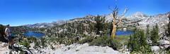 Sierra rewards (Chief Bwana) Tags: ca california sierra sierranevada easternsierra goodalepass backcountry backpacking hiking couple loneindianlake papooselake mtritter bannerpeak mammoth mtizaakwalton panorama psa104 chiefbwana 500views 1000views 2000views 3000views 4000views 5000views explored mountainpass 6000views