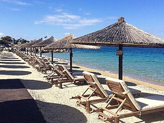 #Booknow your #vacation and pick your #sunbed!! #portocarras #halkidiki #sithonia #luxury #resort #beachday #Sunday #beach #sea #seaside #crystal #water #summer #travelling #swimming (Porto Carras Grand Resort) Tags: booknow vacation sunbed portocarras halkidiki sithonia luxury resort beachday sunday beach sea seaside crystal water summer travelling swimming