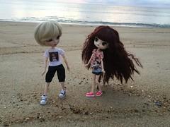 Lua & Leif at the beach (Mina Mimosa) Tags: doll dal glen pullip isul ramuw