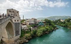 Mostar (03) (Vlado Fereni) Tags: mostar cities bridges rivers neretva bosniaherzegovina riverneretva nikkor173528 nikond600 citiestowns