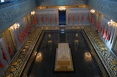Mohammed V tomb 1 (PhillMono) Tags: nikon dslr d7100 perspective art architecture travel tourist reflection rabat morocco tomb mausoleum coffin empty life death memory