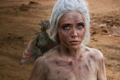 The Game of Thrones (re-l_mair) Tags: face fantasy anusual beautiful awesome canon eos7d hair dragon girl