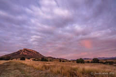 Sunrise clouds (NettyA) Tags: longexposure winter grass clouds rural sunrise wow track farm australia farmland le qld queensland 2016 scenicrim mtmaroon seqld sonya7r