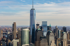Castles (saquist) Tags: new york big apple never sleeps norh america yankee castles stone glass world trade center east river hudson goldman sachs cme group battery park stock exchange wall street pier broadway central lower manhattan united states helicopter metropolitan theatre