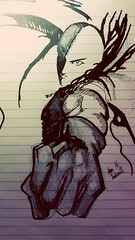 Lezz go... I'm back (foreignfable) Tags: pencil sharpie onepunch