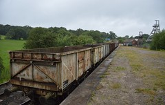 Waiting for collection (IndustrialMadness) Tags: wagon mineral colliery foxfield 16t foxfie
