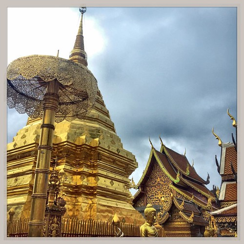 Wat Phra That Doi Suthep, Chiang Mai - Thailandia #lapatataingiacchettainthailandia