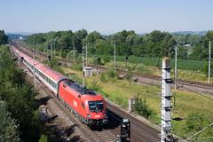 wb_100709_04 (Prefektionist) Tags: eisenbahn bahn railway rail railroad train trains westbahn sterreich austria bb oebb niedersterreich loweraustria nikon d700 siemens es64 taurus 1116 aigen ybbsanderdonau