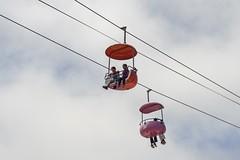 SkyHang (J.S.Gonzalez) Tags: sky line hang ride amusement santa cruz beach board walk cloudy rides