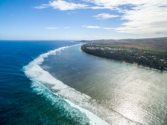 Lagoon (ilyasrotman) Tags: lagoon sea water blue island wave paradise nature wild clouds reef drone dji djiphantom aerial picture