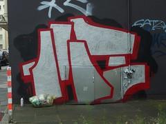 143 (mkorsakov) Tags: dortmund city innenstadt klinikviertel graffiti tagging piece 143 silber silver
