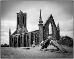 Ballinafagh Church (johnhig89) Tags: 120film 2016 blackwhite blackblurphotography film ilfordsfx ireland kildare mamiyarz67 tanol ballinafaghchurch infraredfilm