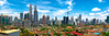 Skyline | Kuala Lumpur, Malaysia (NicoTrinkhaus) Tags: architecture architektur asia asien building business city cityscape gebaude klcc kualalumpur malaysia modern skyline skyscraper stadtbild wirtschaft wolkenkratzer zwilling bluesky sky clouds colors colorful hdr hdrphotography photography panorama landscape landschaft