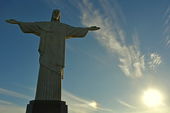 Welcome to Rio World (Spectacle Photography) Tags: visitrio cristoredentor riodejaneiro rio rio2016 riosul brasil brazil olympics olympics2016 southamerica christtheredeemer openingceremony marcana overlooking travel sun flickr