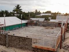 Concrete Tennis Court (mikecogh) Tags: funafuti tuvalu tenniscourt concrete enclosed