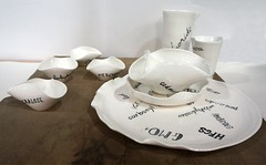 """Dinner for One"" by Ank de Roo (Christine Cox @ potfest) Tags: dinnerforone potfestinthepens penrith cumbria pottersmarket ceramic"