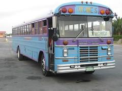 Belizean bus (Sasha India) Tags: belizecity belize             caribbean