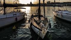 Viejo velero (Costero2010) Tags: velero contraluz puerto mar muelle