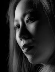 Victoria-10 (jerseytom55) Tags: pentax645z 645z asianwoman asian danger drama beautifulwoman blackandwhite