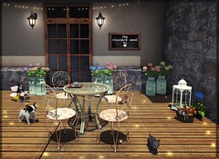 In the afternoon (nannja.panana) Tags: abiss collabor88 jian lunarseasonaldesigns tms trompeloeil coffeetime nannjapanana secondlife slheurika