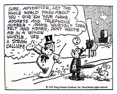 A prediction for Facebook from 1934 - Krazy Kat and Ignatz Mouse 3794 (Brechtbug) Tags: a prediction for facebook from 1934 krazy kat ignatz mouse comic strip newspaper news paper sunday funnies daily comics funny humor satire character syndicate artist george herriman cartoonist pen ink illustration art 2016