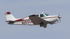 Beech E33A Bonanza N3532A (ChrisK48) Tags: 1969 beeche33a bonanza kdvt n3532a phoenixaz beechcraft phoenixdeervalleyairport aircraft airplane dvt