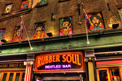 Rubber Soul (Billy McDonald) Tags: hdr rubbersoul thebeatles bar liverpool